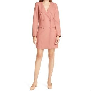 Judith & Charles Double Breasted Wool Blazer Dress